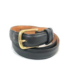 Coach Belt Size Small Black and Gold